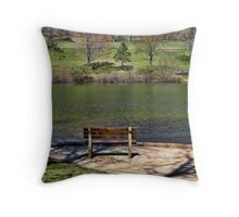 A Scenic Seat Throw Pillow