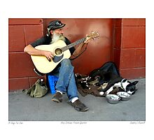 """A Song For Ema"" ( A man and his dog) Photographic Print"