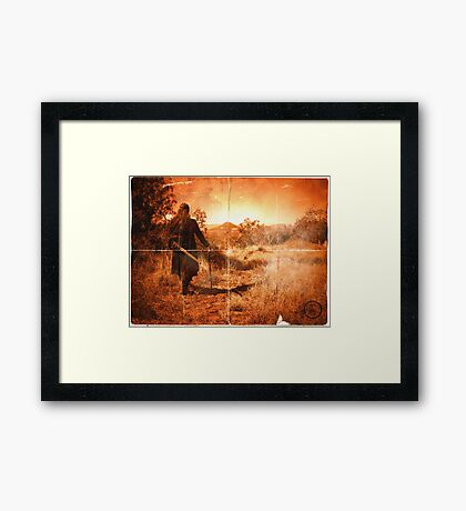 I Walk Alone  Framed Print