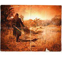 I Walk Alone  Photographic Print