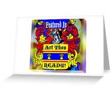 Art Thou Ready? Banner Greeting Card