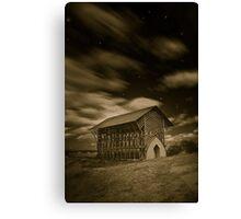 Shrine at Night (simulated) Canvas Print