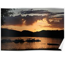 Whitefish Boating Poster