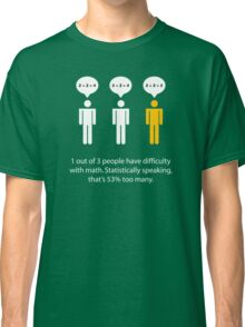Math Problems Classic T-Shirt