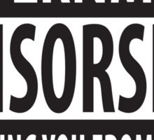 Censorship Sticker