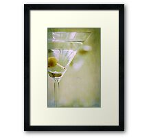 Retro Cocktail Framed Print