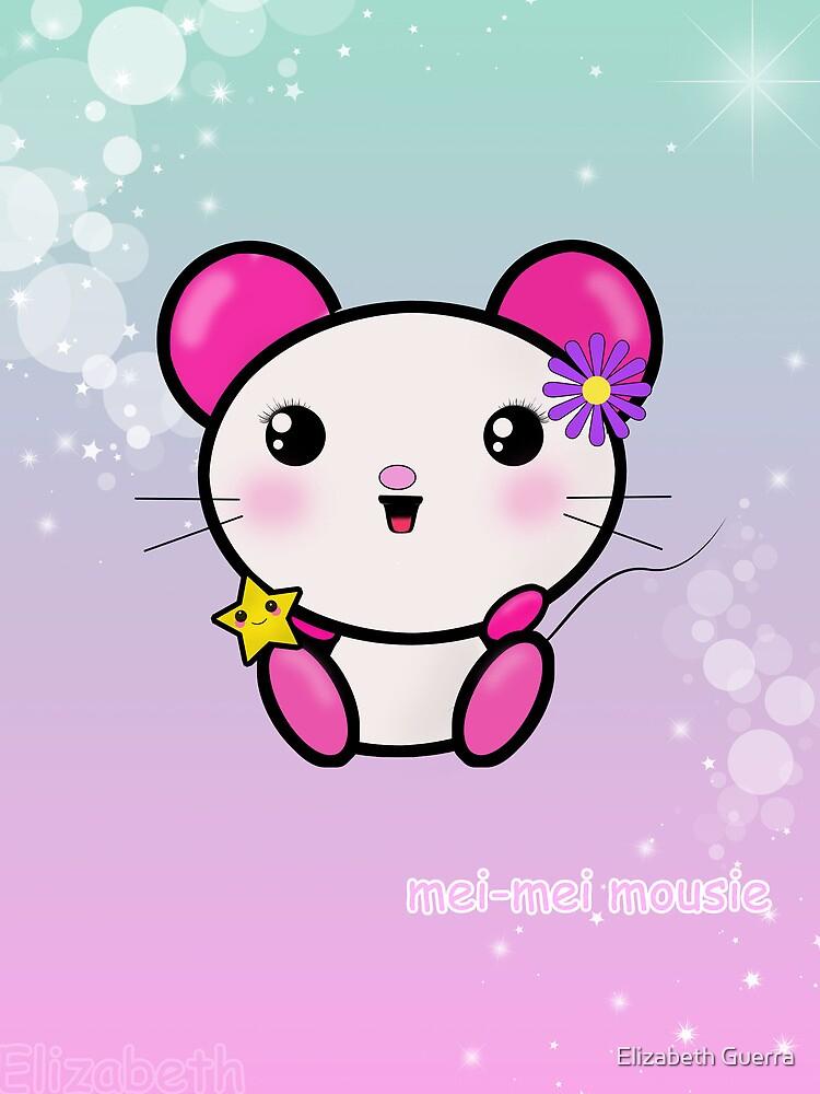 Kawaii Mouse Mei! by Elizabeth Escalera