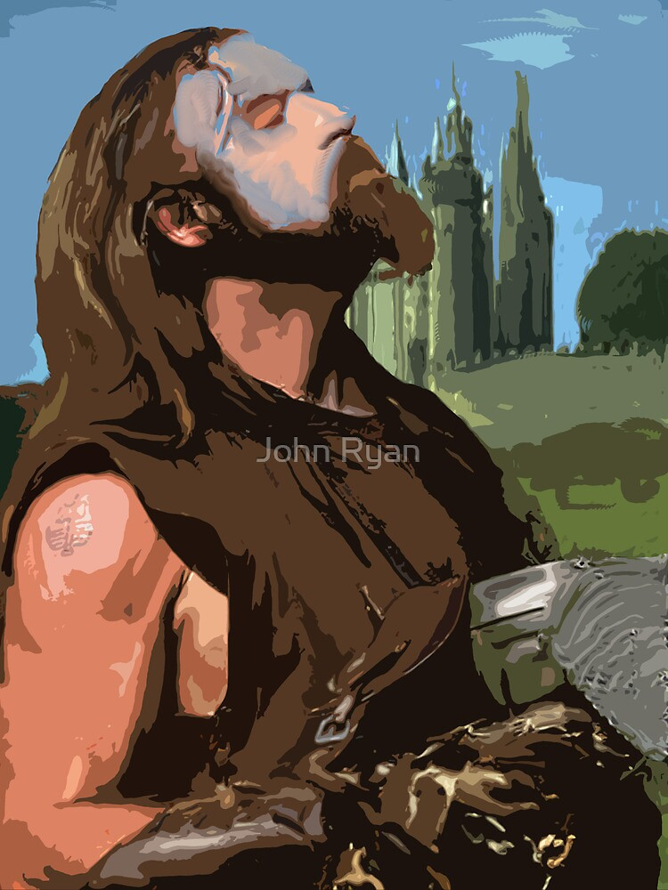 ahh the sweet smell of battle by John Ryan