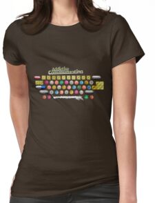 Addictive Communication Womens Fitted T-Shirt