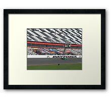Patron at Daytona Framed Print