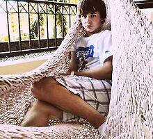 Boy in a Hammock - Cancun, Mexico by TiffanieH