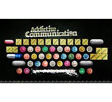 Addictive Communication Photographic Print