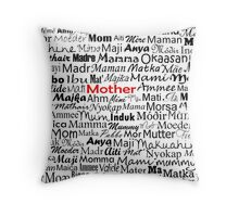 Mother Card Throw Pillow