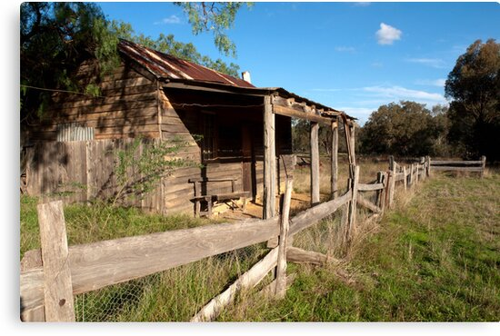 Costerfield Cottage by John Sharp