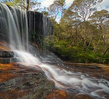 Waterfalls of the Jamison Valley, NSW No2 by Jennifer Bailey