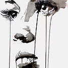 untitled face - work in progress #1 by Loui  Jover