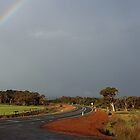 Rainbow - Rural Western Australia by Ross Campbell