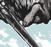 The Swordswolf Sticker