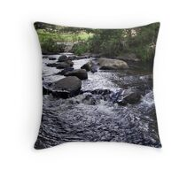 Yarra River, Warburton, Victoria Throw Pillow