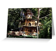 Boinga Bob's House, Warburton, Victoria Greeting Card