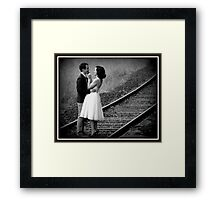 once upon a time ,,, Framed Print