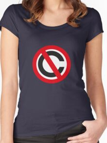No Copyright Women's Fitted Scoop T-Shirt