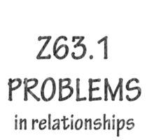 ICD-10: Problems in relationships with in-laws Sticker