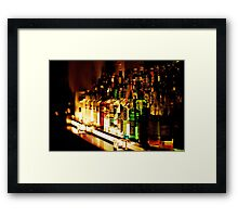 bar back office Framed Print