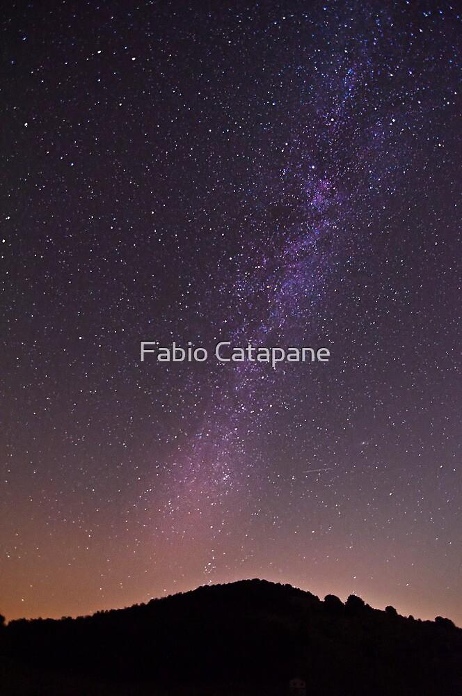 Milky way over Campitelli, Abruzzo, Italy by Fabio Catapane