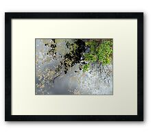 The Up Side of Down #2 Framed Print