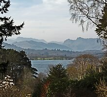 Lake Windermere from Brockhole by Astrid Ewing Photography