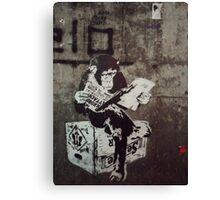 Monkey Terrorist Canvas Print