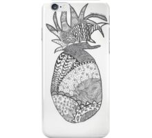 Pineapple Doodle iPhone Case/Skin