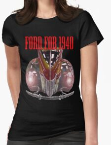 1940 Ford Womens Fitted T-Shirt