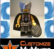 Customize My Minifig Collector Card 3 - Custom LEGO® 'Captain Vortex' by Chillee
