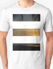 3 Strip Sunset T-Shirt
