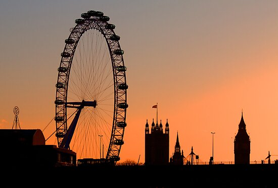 London skyline by Stacey  Purkiss