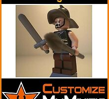 Customize My Minifig Collector Card 11 - Custom LEGO® 'Titus the Gladiator' by Chillee