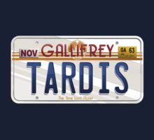TARDIS License Plate One Piece - Long Sleeve