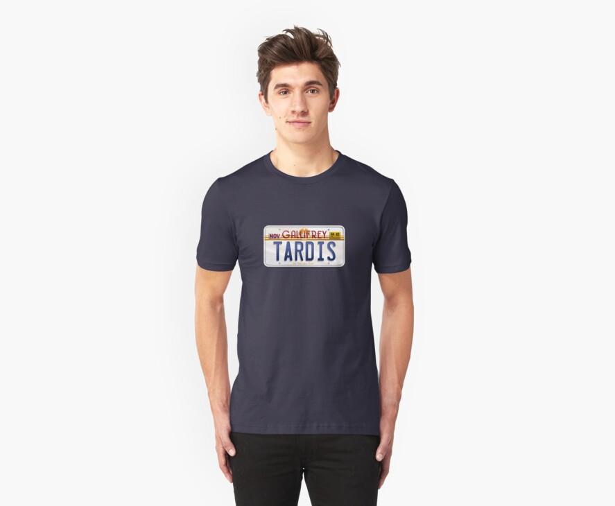 TARDIS License Plate by trekspanner