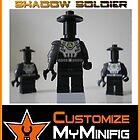 Customize My Minifig Collector Card 15 - Custom LEGO® 'Cyber DroidShadow Soldier' by Chillee