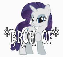 Rarity *BROHOOF* One Piece - Short Sleeve