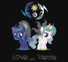 Celestia & Luna - Love & tolerate by SoloBron3