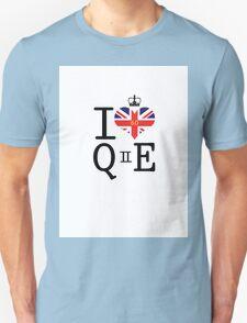 I heart Queen Elizabeth  Unisex T-Shirt