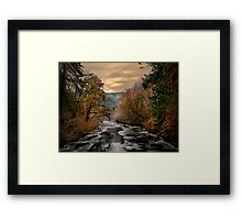 Snow Glow and Light Framed Print