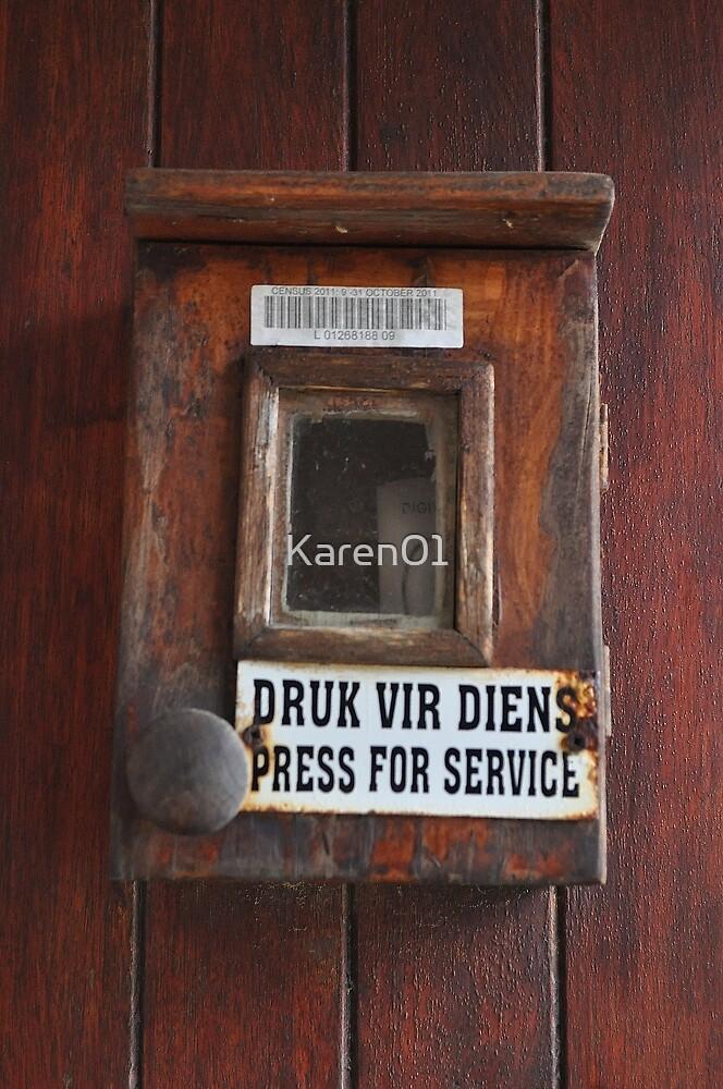 Druk vir diens - Suid Afrika by Karen01
