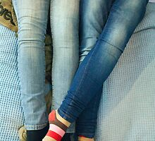 Lesbians And Colourful Socks by mphphoto