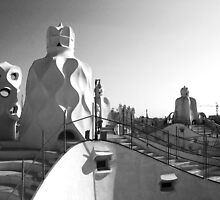 La Pedrera soldiers by zinchik