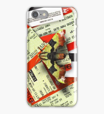 Urban Jungle: Travel Moth iPhone Case/Skin