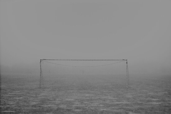 Fog football landscape by mphphoto